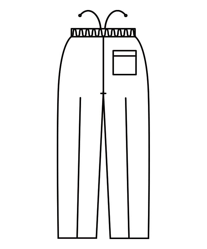 イージーパンツ[男女兼用][住商モンブラン製品] 7-851