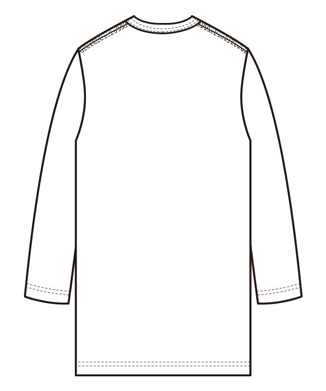 ニットTシャツ七分袖[男女兼用][セブンユニフォーム製品] QU7362