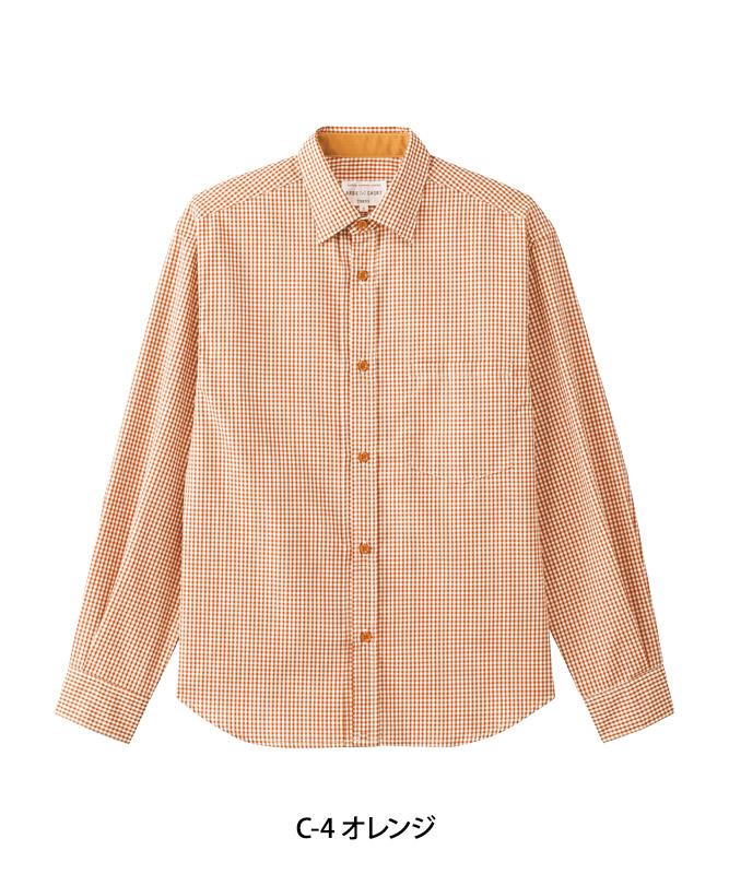 シャツ長袖[男女兼用][チトセ製品] AS8704