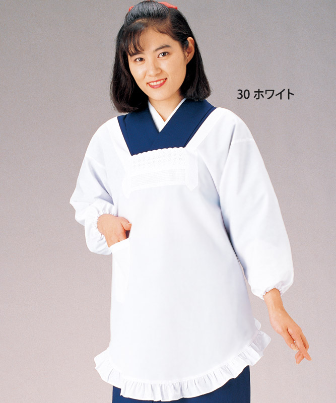 割烹着[KAZEN製品] 380-30