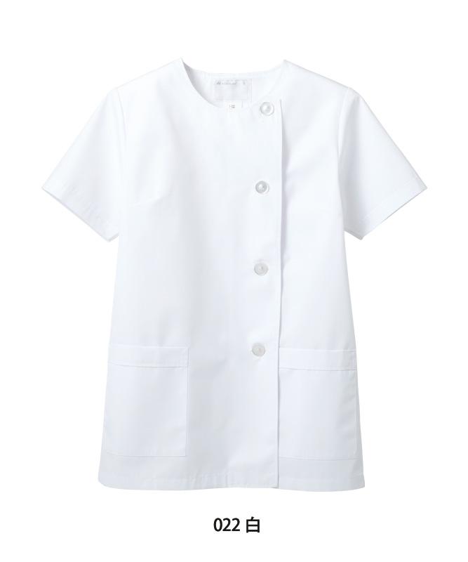 調理衣レディス半袖[住商モンブラン製品] 1-022