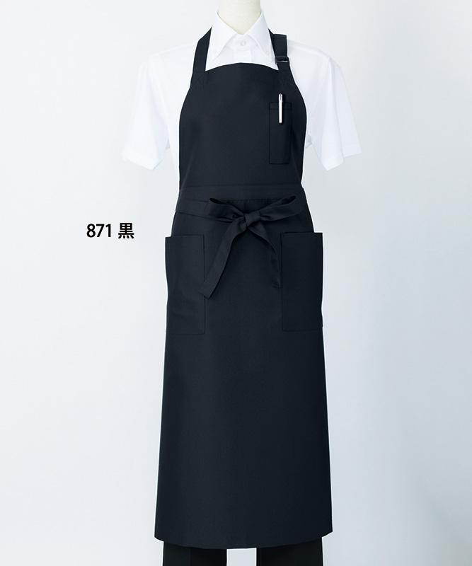 首かけエプロン[男女兼用][住商モンブラン製品] 5-871