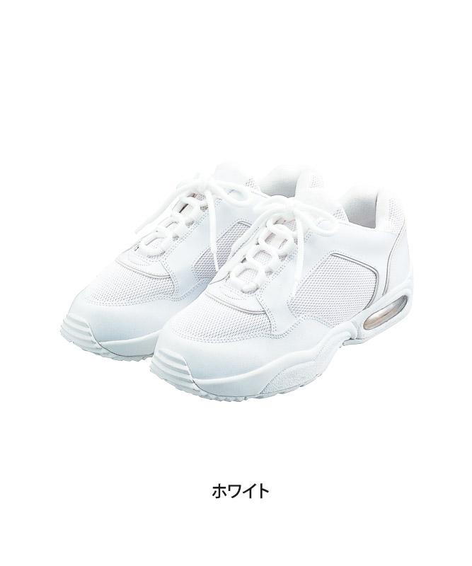 スニーカー(エア・ヒモタイプ)[男女兼用][KAZEN製品] MX135