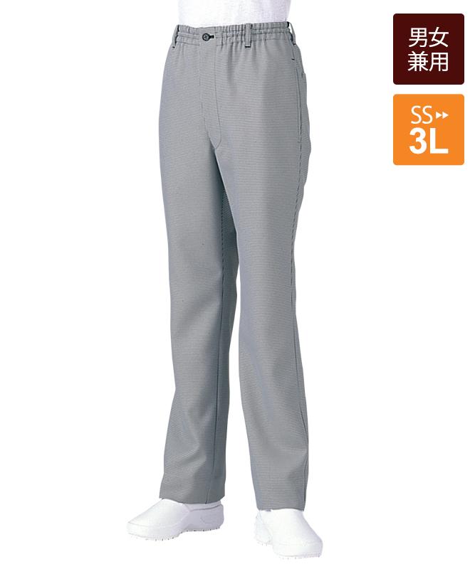 千鳥格子イージーパンツ[男女兼用][チトセ製品] AS6003