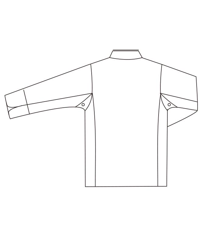 T/Cツイルコックコート長袖[男女兼用][チトセ製品] DN8054