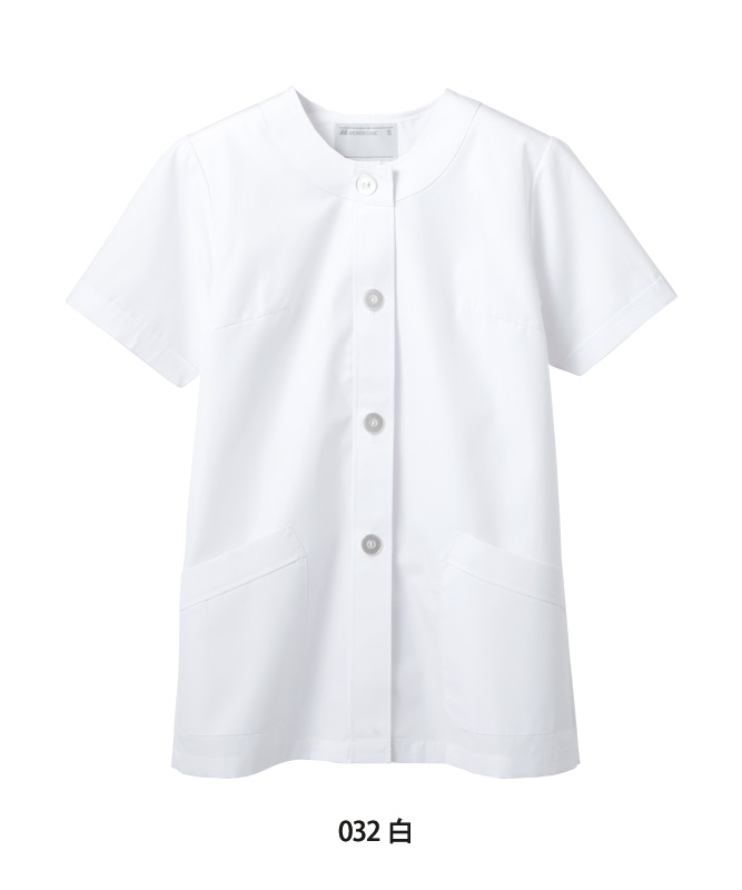 調理衣レディス半袖[住商モンブラン製品] 1-032