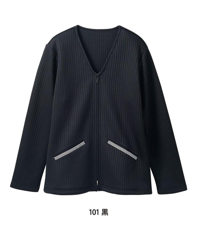 キルトニットカーディガンレディス長袖[住商モンブラン製品] 8-10