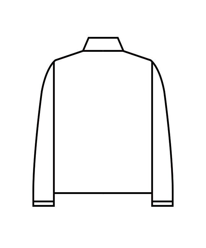 キルトニットブルゾン長袖[男女兼用][住商モンブラン製品] 8-101
