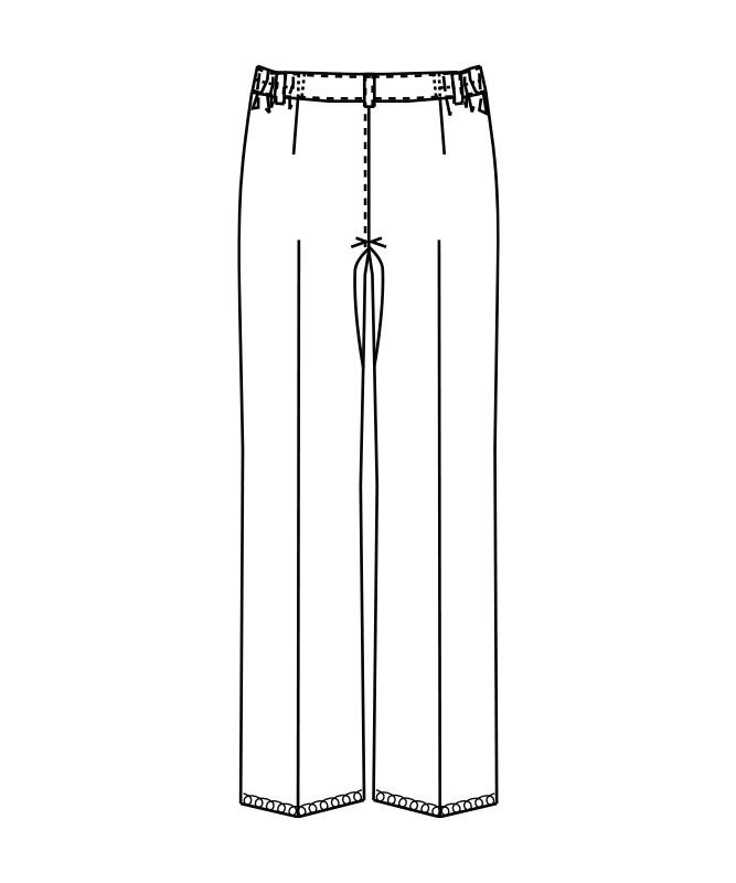 脇ゴムパンツ[女子][チトセ製品] AS8310
