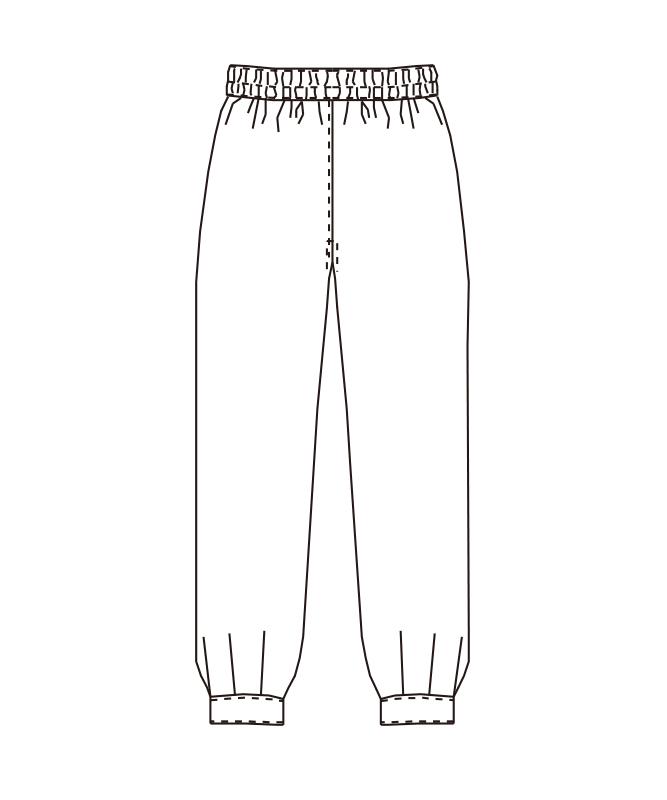 和風パンツ[男女兼用][チトセ製品] AS8205