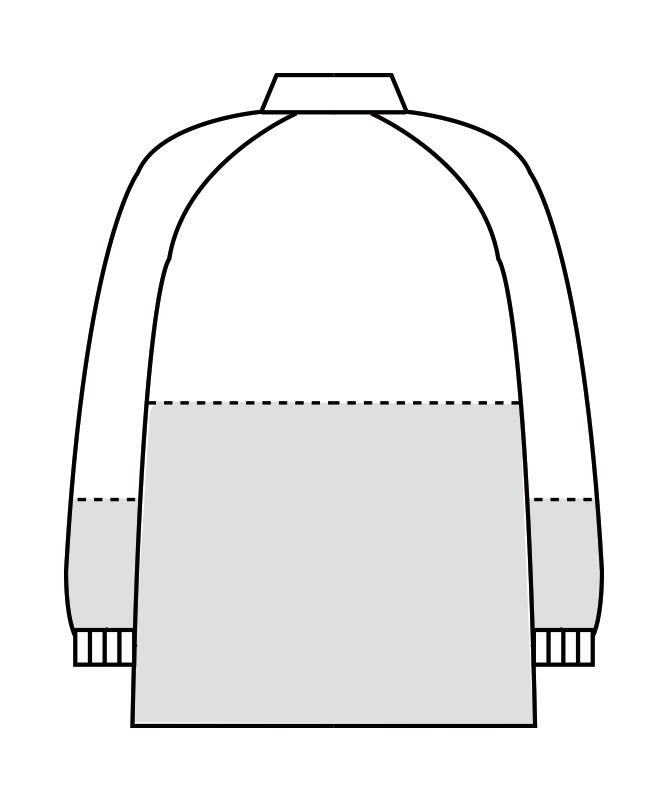 ダブルクロスブルゾン長袖[男女兼用][住商モンブラン製品] 8-110