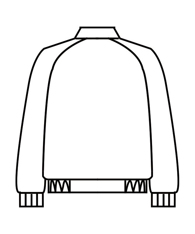 制電トロピカルジャンパー長袖[男女兼用][住商モンブラン製品] 8-411