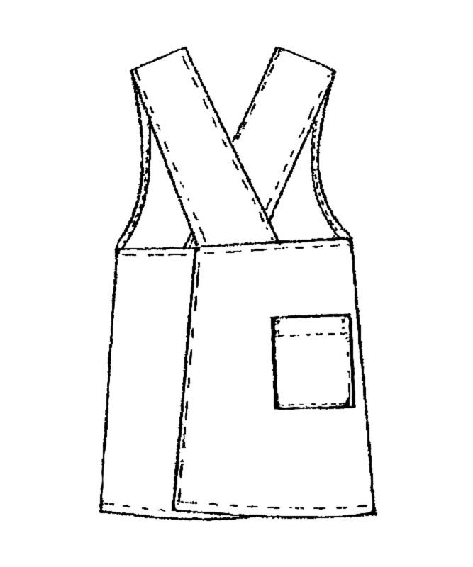 撥水エプロン[KAZEN製品] 908-9