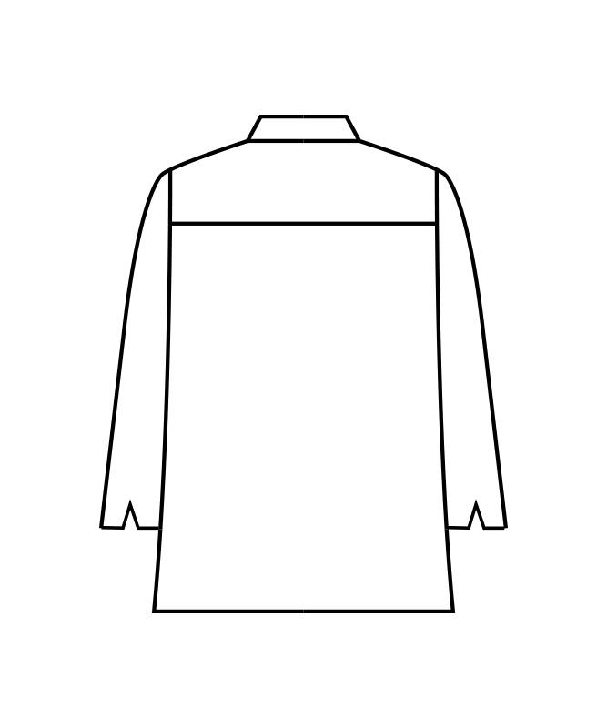 ツイルコックコート長袖[男女兼用][住商モンブラン製品] 6-105