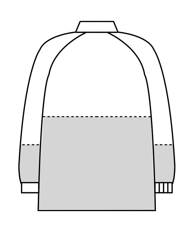 制電トロピカルブルゾン長袖[男女兼用][住商モンブラン製品] 8-42