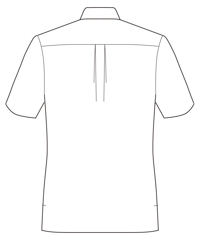 アロハシャツボタンダウン(貝柄)半袖[男女兼用][ボンマックス製品] FB4541U