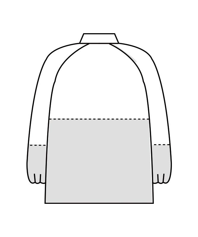 制電ストレッチツイルブルゾン長袖[男女兼用][住商モンブラン製品] 8-46