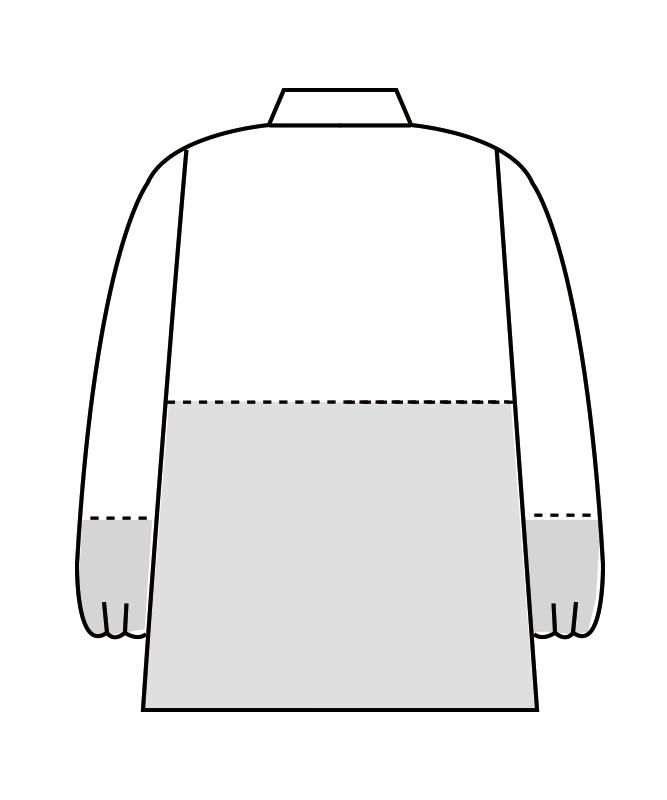 制電交織ポプリンブルゾン長袖[男女兼用][住商モンブラン製品] 8-48