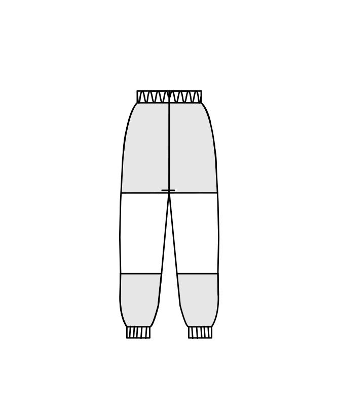 ネオクロスガードパンツ(総ゴム+ヒモ付)[男女兼用][住商モンブラン製品] DA7711