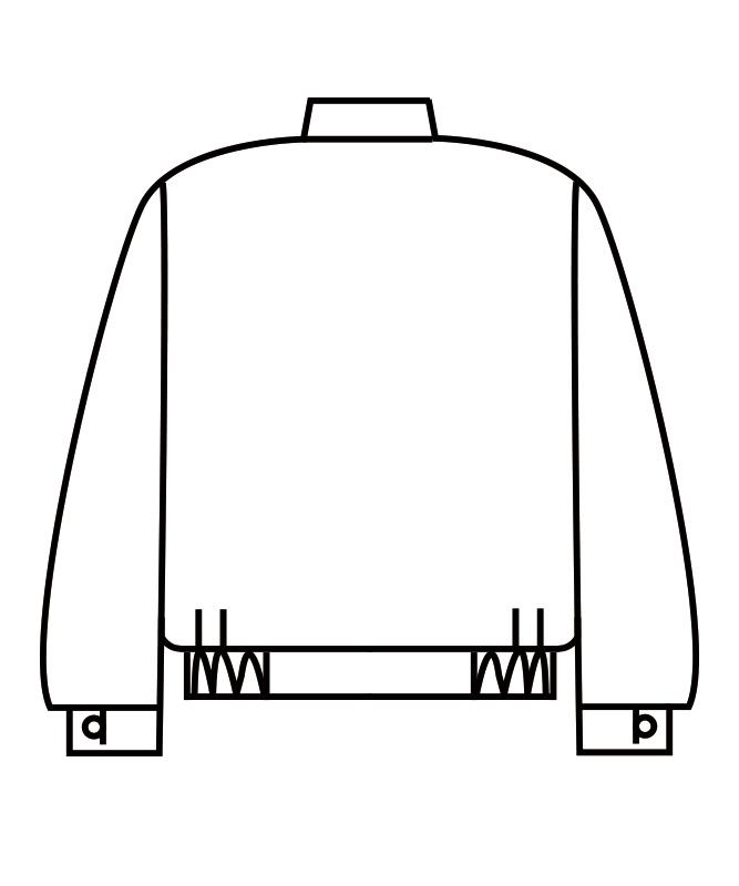 制電ツイルジャンパー長袖[男女兼用][住商モンブラン製品] 8-51