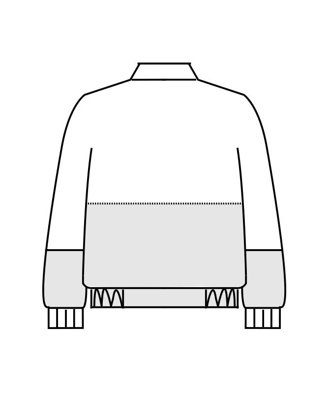 ネオクロスガードジャンパー長袖[男女兼用][住商モンブラン製品] DA8701