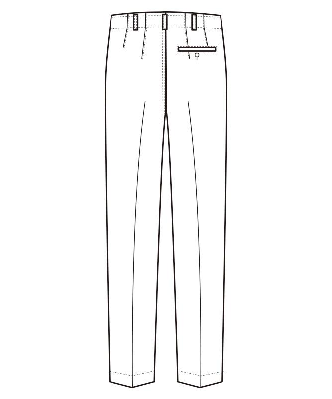 パンツ(抗菌コート)[男性用][セブンユニフォーム製品] AL431