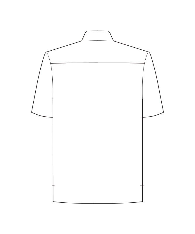 アロハシャツ(シダ)半袖[男女兼用][ボンマックス製品] FB4547U