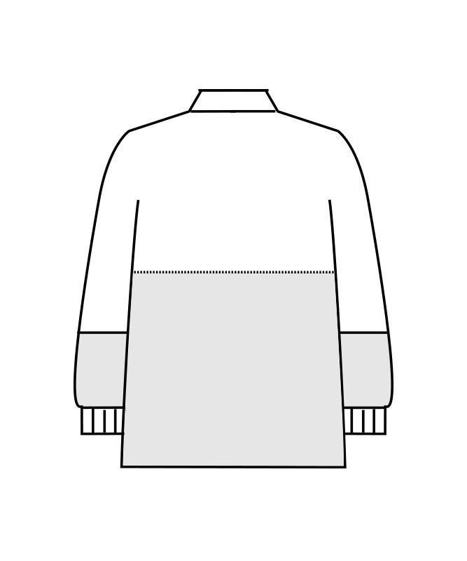 ネオクロスガードブルゾン長袖[男女兼用][住商モンブラン製品] DA8711