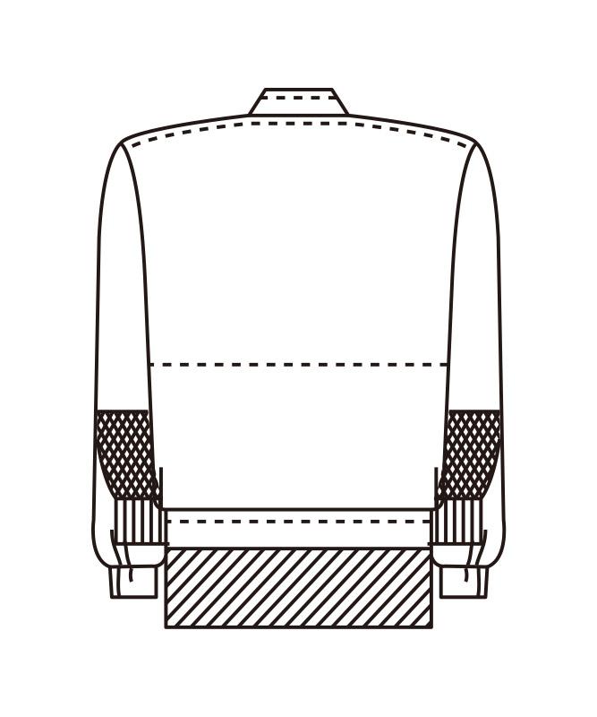 アクアウィンカージャンパー長袖[男女兼用][KAZEN製品] 403-2