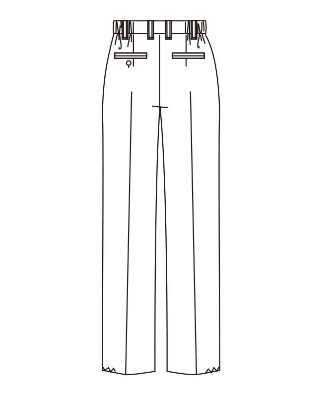 脇ゴムパンツ[男子][チトセ製品] AS6203