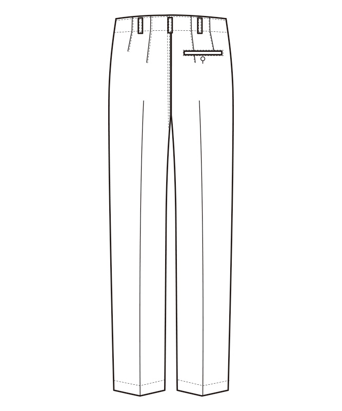 ストライプスラックス[男性用][セブンユニフォーム製品] BL1470