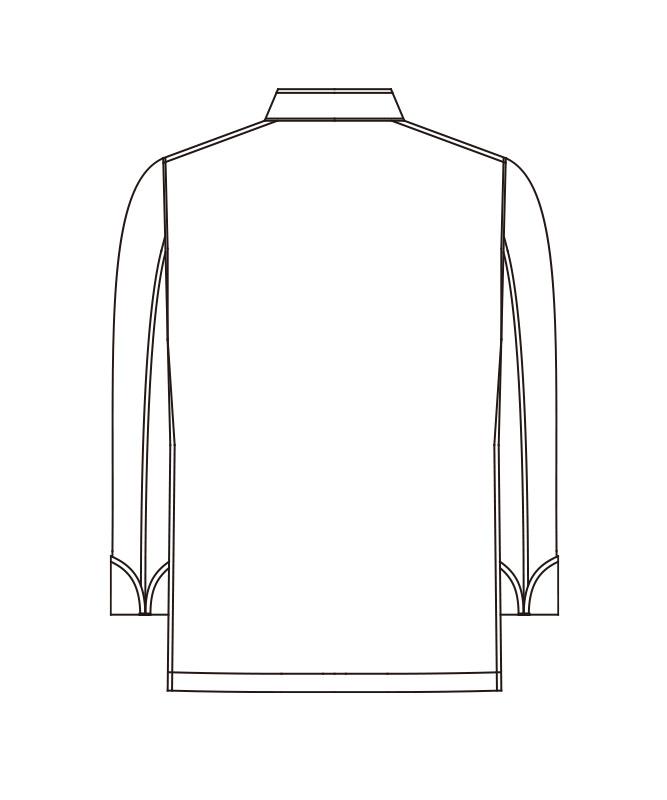コックコート八分袖[男女兼用][KAZEN製品] HM201-10