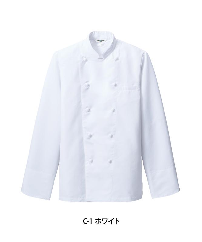 交織ウェザーコックコート長袖[男女兼用][チトセ製品] AS6208