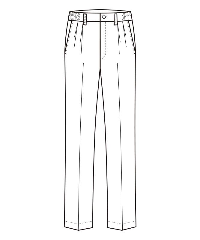 千鳥パンツ[男女兼用][セブンユニフォーム製品] WL1471