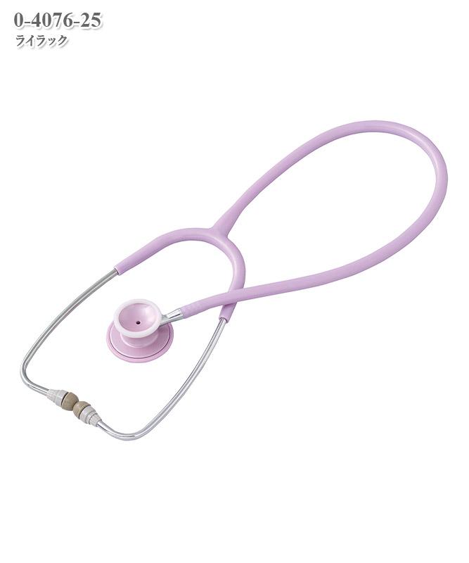 聴診器[ナーシングフォネット](ダブル)[アズワン製品]  0-4076