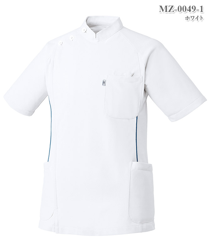 ミズノ男子ケーシージャケット半袖[チトセ製品] MZ-0049