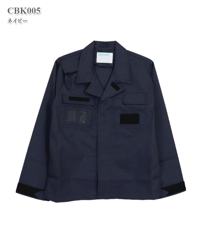 男女兼用タクティカルシャツ長袖[KAZEN製品] CBK005
