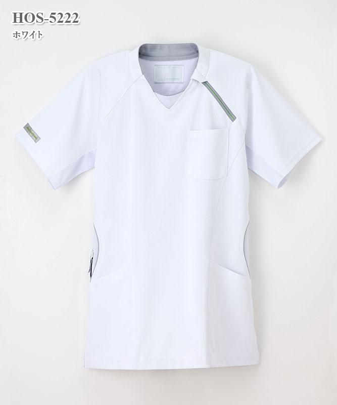 男女兼用上衣半袖[ナガイレーベン製品] HOS-5222