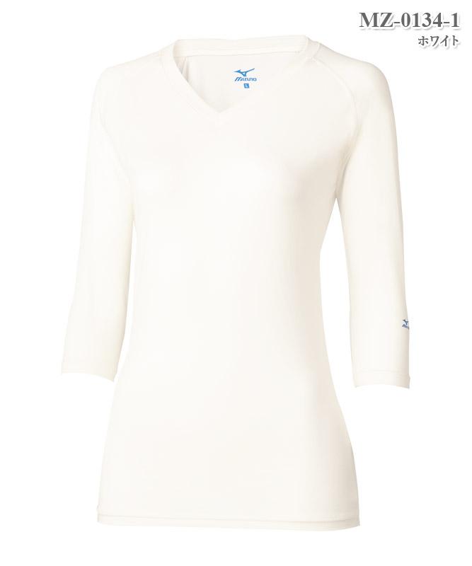 ミズノ女子アンダーウェア七分袖(返品不可商品)[チトセ製品] MZ-0134