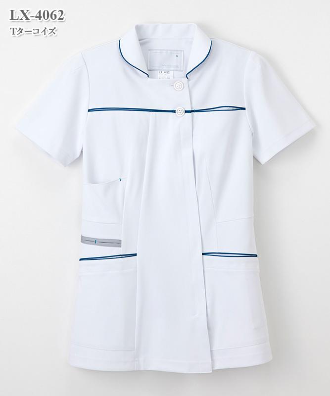 女子チュニック半袖[ナガイレーベン製品] LX-4062