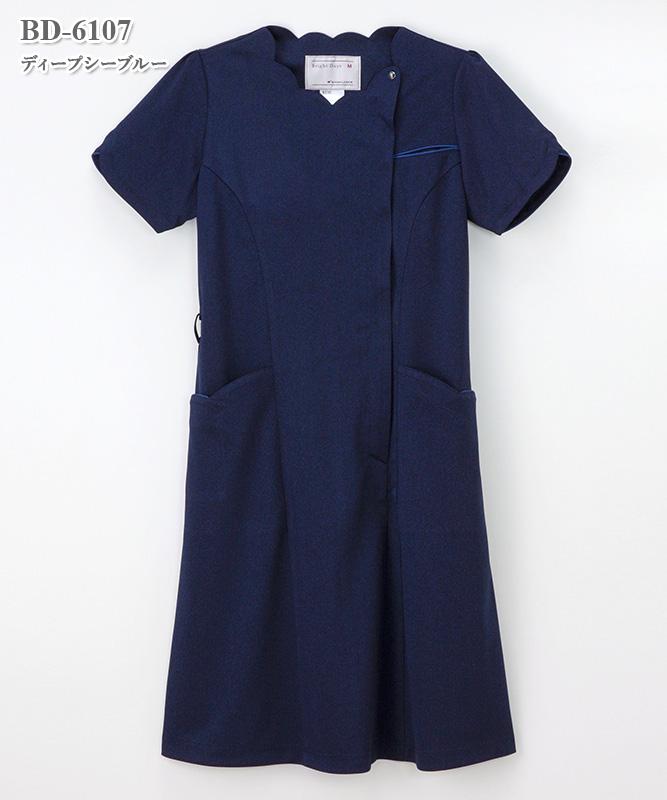 女子ワンピース半袖[ナガイレーベン製品] BD-6107