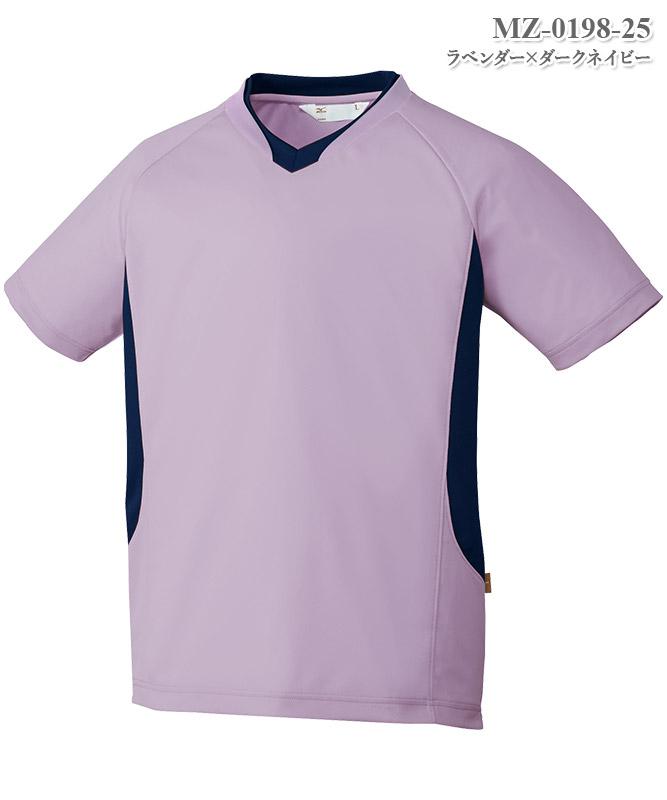 ミズノ男女兼用入浴介助用シャツ半袖[チトセ製品] MZ-0198