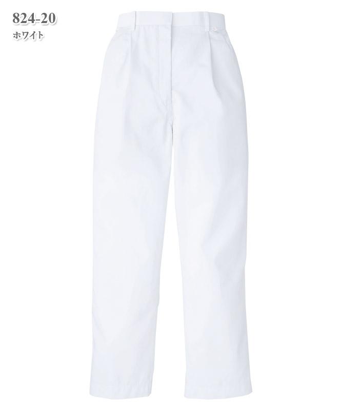 双糸ツイルパンツ(レディス)[KAZEN製品] 824-20