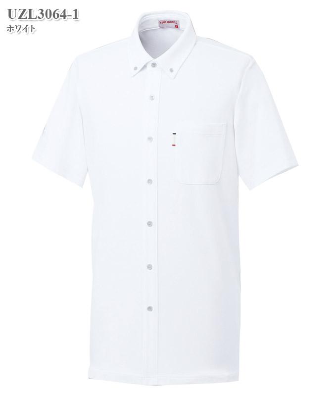 ルコックスポルティフ男女兼用ニットシャツ半袖[lecoq製品] UZL3064