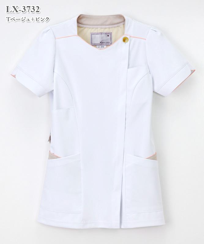 女子チュニック半袖[ナガイレーベン製品] LX-3732
