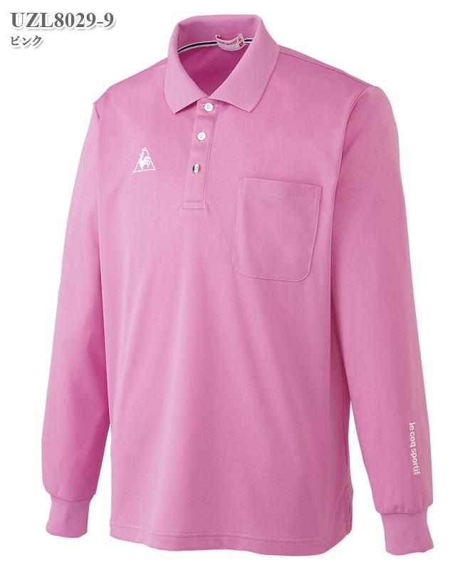 ルコックスポルティフ男女兼用長袖ポロシャツ[lecoq製品] UZL8029