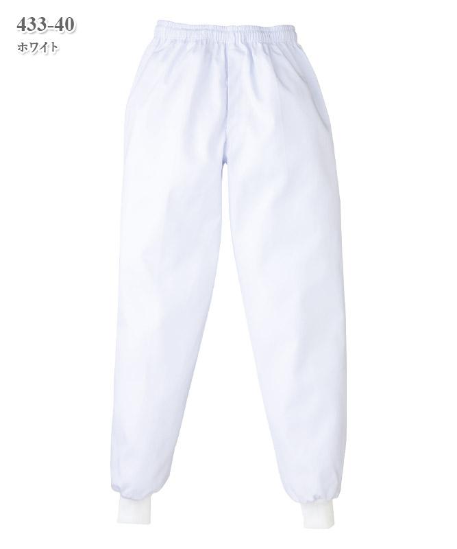 単糸ツイルスラックス(メンズ)[KAZEN製品] 433-40