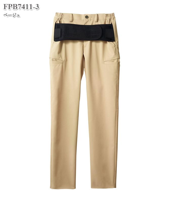 男女兼用腰ケアパンツ(腰部サポートベルト付) [住商モンブラン製品] FPB7411