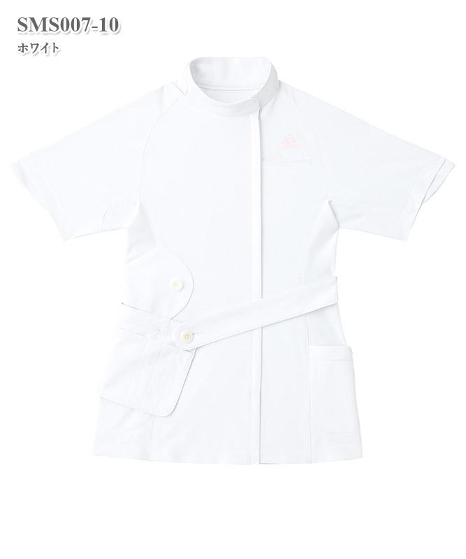 アディダスレディスジャケット半袖[KAZEN製品] SMS007