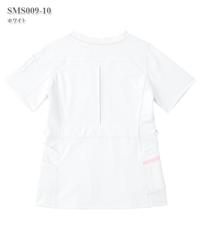アディダスレディススクラブ半袖[KAZEN製品] SMS009